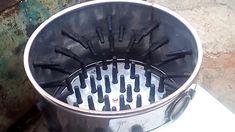 Baromfi kopasztó automata mosógépből