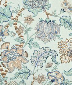 only 9.80 onlinefabricstore.com P. Kaufmann OUTDOOR; Clarice Pacific Blue Fabric