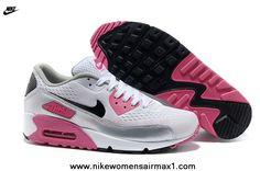 newest 5f6ce e8a38 New Nike Air Max 90 Premium EM Womens Trainers Laser Pink For Sale Air Max  90