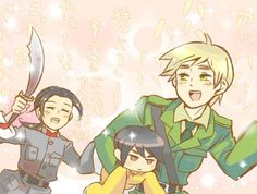 How adorable <3 The Tea Family is...China chasing England in a slow-mo...how cute~
