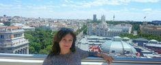 A la manera Iniesta: #Madrid desde la azotea del Círculo de las Artes. #España
