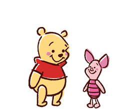 "lillianriva:  ""Pooh | Piglet  """
