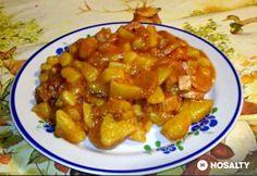 Kolbászos-virslis paprikás krumpli