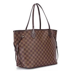 Louis Vuitton Damier Ebene Canvas Neverfull MM N51105 http://www.purseside.com/Damier-Ebene-Canvas/Replica-Louis-Vuitton-Damier-Ebene-Canvas-Neverfull-MM-N51105-2701-88.html