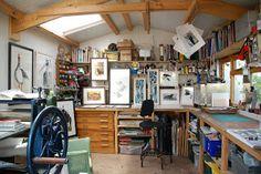 Sue Brown's Printmaker Studio