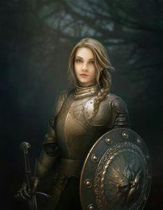 knight, soldier, warrior