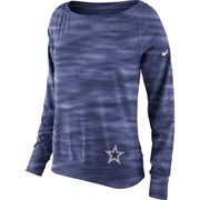 Dallas Cowboys Nike Womens Warpspeed Epic Crew Sweatshirt – Navy Blue