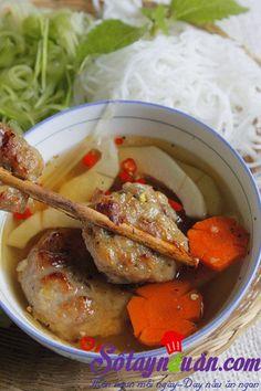 Hướng dẫn nấu ăn ngon hàng ngày cách làm Bún chả nướng dân dã thơm ngon đậm đà và món ngon mỗi ngày quen thuộc với mọi người dân Việt Nam