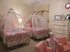 Princess Carriage Bed Room in princess anaya