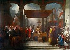 The East India Company: The original corporate raiders | William Dalrymple | World news | The Guardian www.theguardian.com1125 × 795Buscar por imagen The Mughal emperor Shah Alam hands a scroll to Robert Clive, the governor of Bengal, which transferred tax collecting rights in Bengal, Bihar and Orissa to the East India Company.