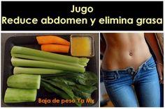 La foto de la derecha es solooo un ejemplo! Jaja: Jugo / Zumo para reducir abdomen y eliminar grasa