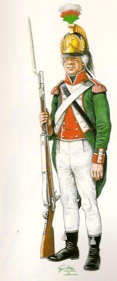 Guardia Civica di Venezia Soldato 1797