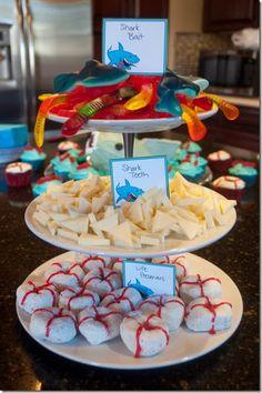 Shark Party Snacks