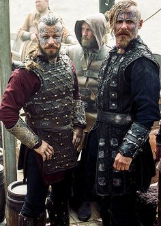 Harald Finehair and Halfdan the Black