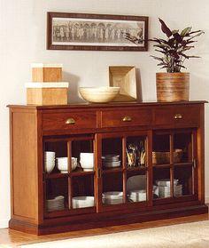 1000 images about muebles para guardar vajillas on pinterest mesas bari and home - Muebles para vajilla ...