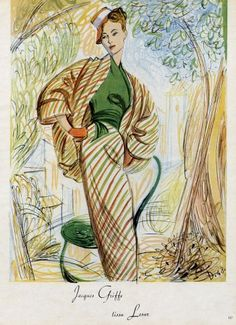 Day Ensemble by Jacques Griffe.  Illustrated by André Delfau, 1948.