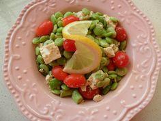 Mediterranean Lima Bean Salad