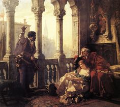 Carl Ludwig Friedrich Becker, Othello Relates His Adventures to Desdemona