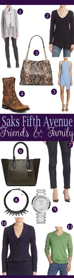 STEALS from the Saks Friends and Family Sale Oct 2015 #ad