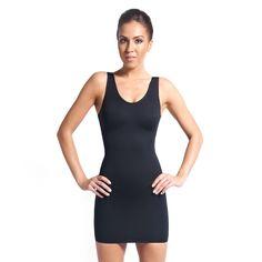 498dc4a619837 Black Shapewear Little Slip Dress. Body Shaper ...