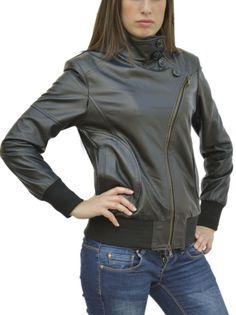 GIUBBINO da donna in vera pelle mod. VERONICA - Pellein.com 92ce631931c