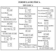 fórmulas-fisica                                                                                                                                                                                 Mais