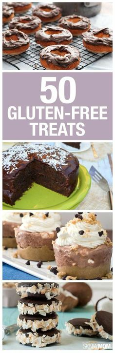 50 gluten-free baked goods for you and you family! #glutenfree #recipe
