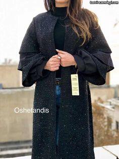 Abaya Fashion, Modest Fashion, Fashion Dresses, Mode Abaya, Mode Hijab, Iranian Women Fashion, African Fashion, Dubai Fashionista, Mode Kimono