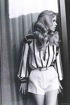 Seventies Fashion + Stripes