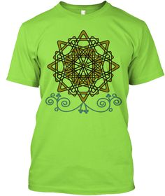 Gold Lime T-Shirt Front