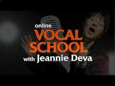 Online Singing Lessons Student Reviews: Jeannie Deva Online Vocal School www.DevaVocals.com