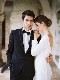 bride and groom from Spanish Mission wedding shoot in California Wedding Fotos, Wedding Photoshoot, Wedding Shoot, Wedding Pics, Wedding Blog, Destination Wedding, Party Wedding, Trendy Wedding, Wedding Ideas