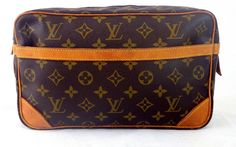 Louis Vuitton Dragonne Clutch Cosmetic Bag Pre Owned Authentic