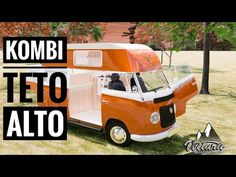 Kombi Camper, Kombi Motorhome, Kombi Home, Vw T1, Van Life, Trailers, Youtube, Camping, Vehicles