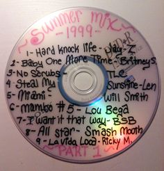 beautilation: I just found the CD my older sister made that I stole and never gave back. But could you blame me?