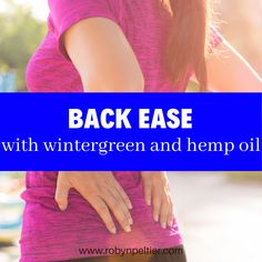 Ease back pain with this quick and easy essential oil blend. Panaway Essential Oil, Natural Essential Oils, Young Living Essential Oils, Essential Oil Blends, Natural Oils, Nutrition Information, Hemp Oil, Starter Kit, Back Pain