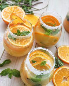 from jerry james stone tangerine ginger sake sangria tangerine ginger ...