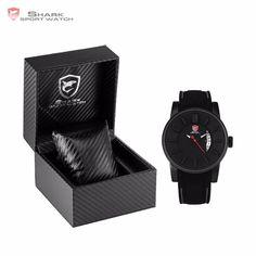 Grey Reef SHARK Sport Watch Fashion Series Luxury Gift Set Package Model SH477-480 Silicone Band Waterproof  Men's Quartz Wrist Watches | For Men Gift Set //Price: $83.98 & FREE Shipping //         #SharkSportWatch