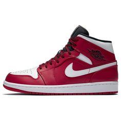 6e2e6999bc4 554724-605 Nike Air Jordan 1 Mid Chicago | KicksCrew | Shop and Buy it Now!!
