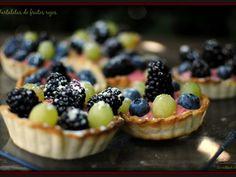 Receta Postre : Tartaletas de frutos rojos por Tererecetas