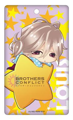 AmiAmi [Character & Hobby Shop] | Brothers Conflict - Acrylic Pass Case: Louis