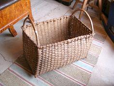 Old newspaper basket