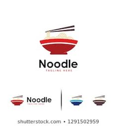 Food Noodle Logo designs concept vector, Chinese Food, Ramen Japanese Food logo template Food Brand Logos, Logo Food, Ramen Japanese, Japanese Food, Chinese Food, Logo Templates, Baby Room, Noodles, Logo Design