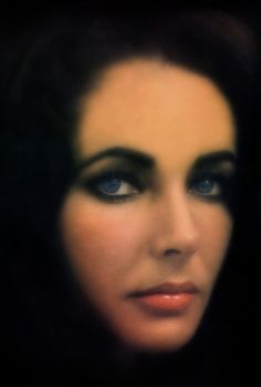 Liz Taylor by William Klein - 1965..........SUCH A BEAUTIFUL PORTRAIT OF ELIZABETH ........SHE WAS A DOWN-TO-EARTH- PERSON.........SHE WAS LIKED AS A PERSON AND NOT JUST FOR HER BEAUTY............ccp