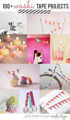100 + #Washi Tapes Project Ideas And Where To Buy Washi Tape  LittleInspiration.com