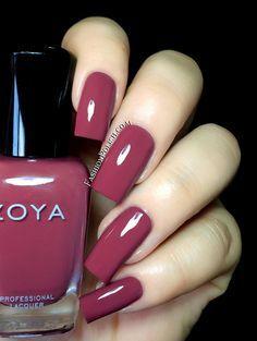 Zoya Naturel Deux Marney - medium mauve creme - love it! Fancy Nails, Love Nails, Pink Nails, How To Do Nails, My Nails, Fabulous Nails, Gorgeous Nails, Stylish Nails, Trendy Nails