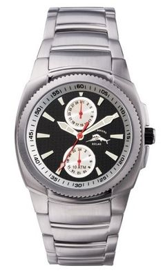 Tommy Bahama Men's RLX3005 Relax Multi Function Watch Tommy Bahama RELAX. $59.95. Water-resistant to 330 feet (100 M). Quality Japanese-Quartz movement. Case diameter: 41 mm. Mineral crystal. Stainless steel case; Black dial. Save 60%!