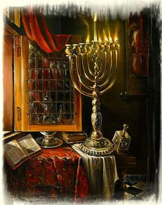 Are you a contemporary jewish art lover? Buy jewish art and jewish life paintings from the great range of selection. Visit online our official website and select the elegant jewish painting for yourself. Hanukkah Lights, Hanukkah Menorah, Happy Hanukkah, Hannukah, Cultura Judaica, Arte Judaica, Jewish History, Jewish Art, Biblical Hebrew