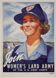 The US also had a Women's Land Army working with the US Crop Corps