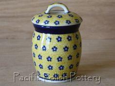 Polish Pottery Jar (Pattern 242)